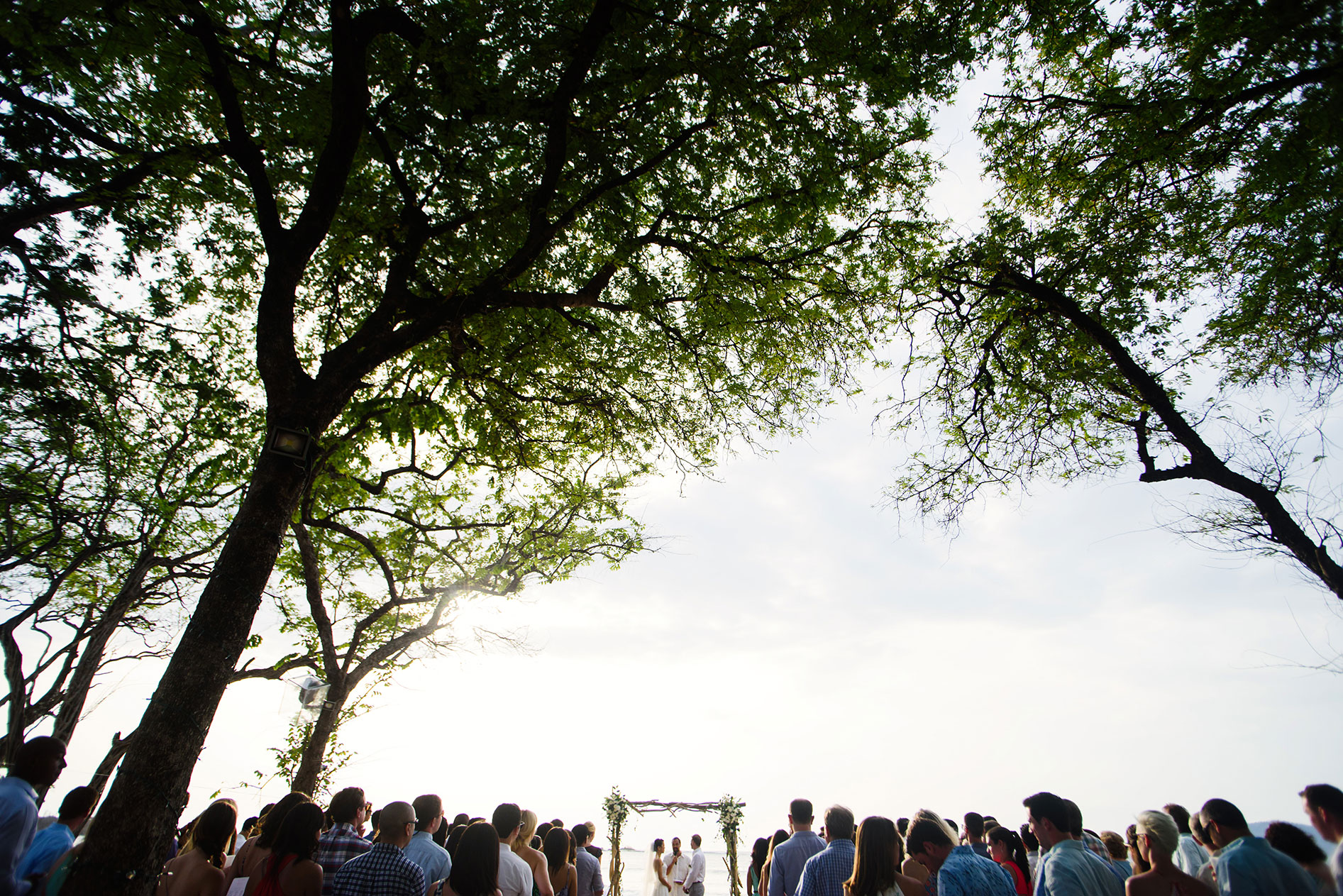 Langosta Beach Club Wedding Costa Rica