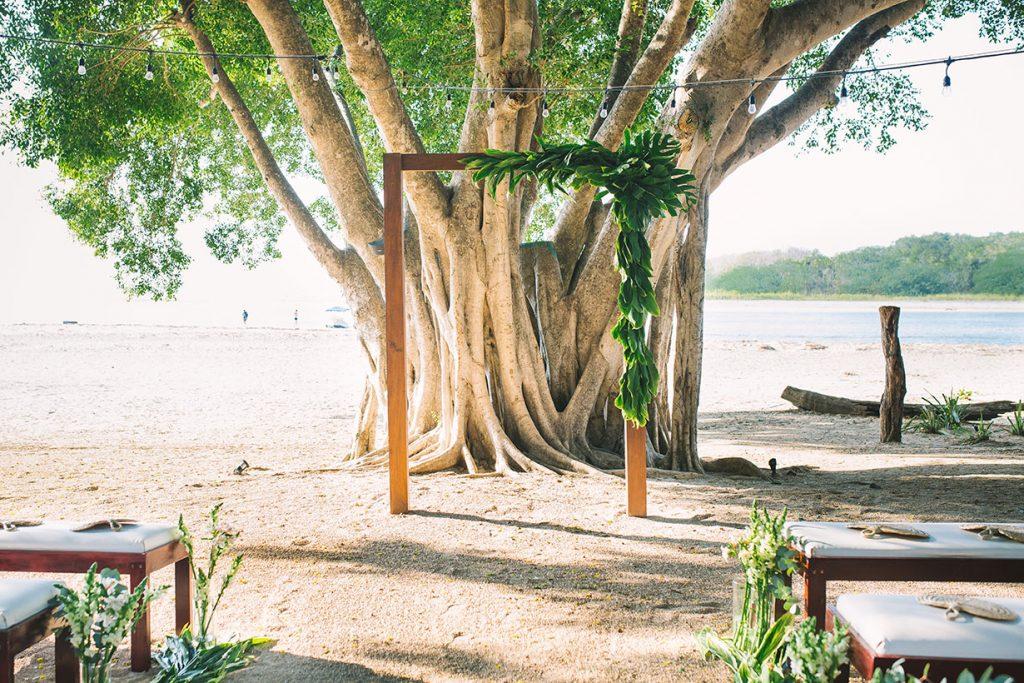 Wedding Arch Costa Rica Wedding