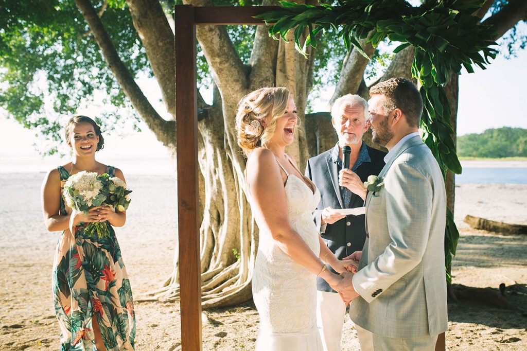 Ceremony Love Costa Rica Beach Wedding
