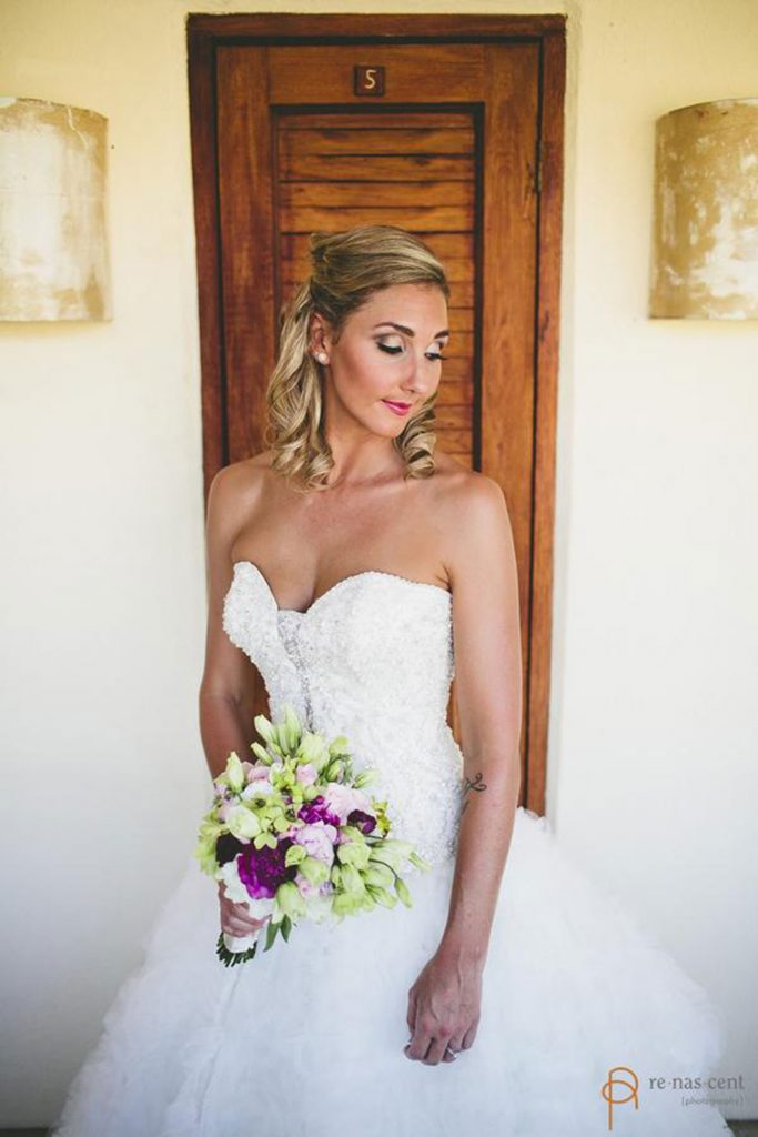Bride Bouquet Costa Rica Beach Wedding