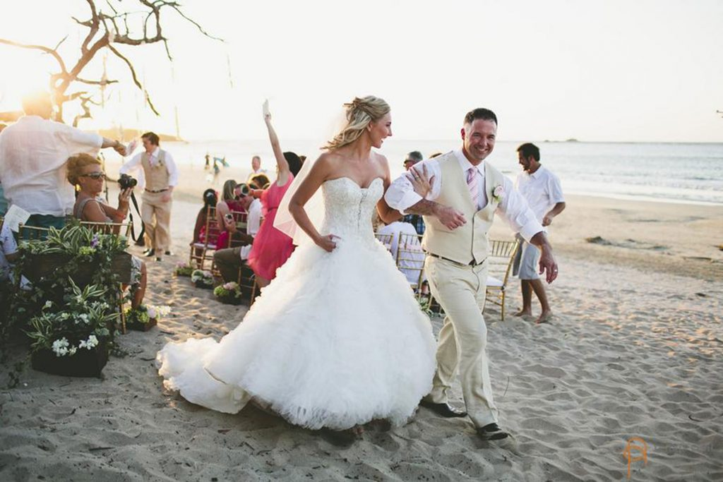 Ceremony Costa Rica Beach Wedding