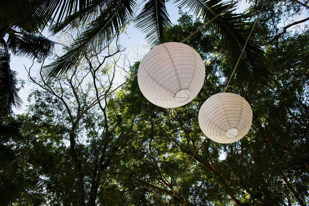 Lighting Costa Rica Wedding