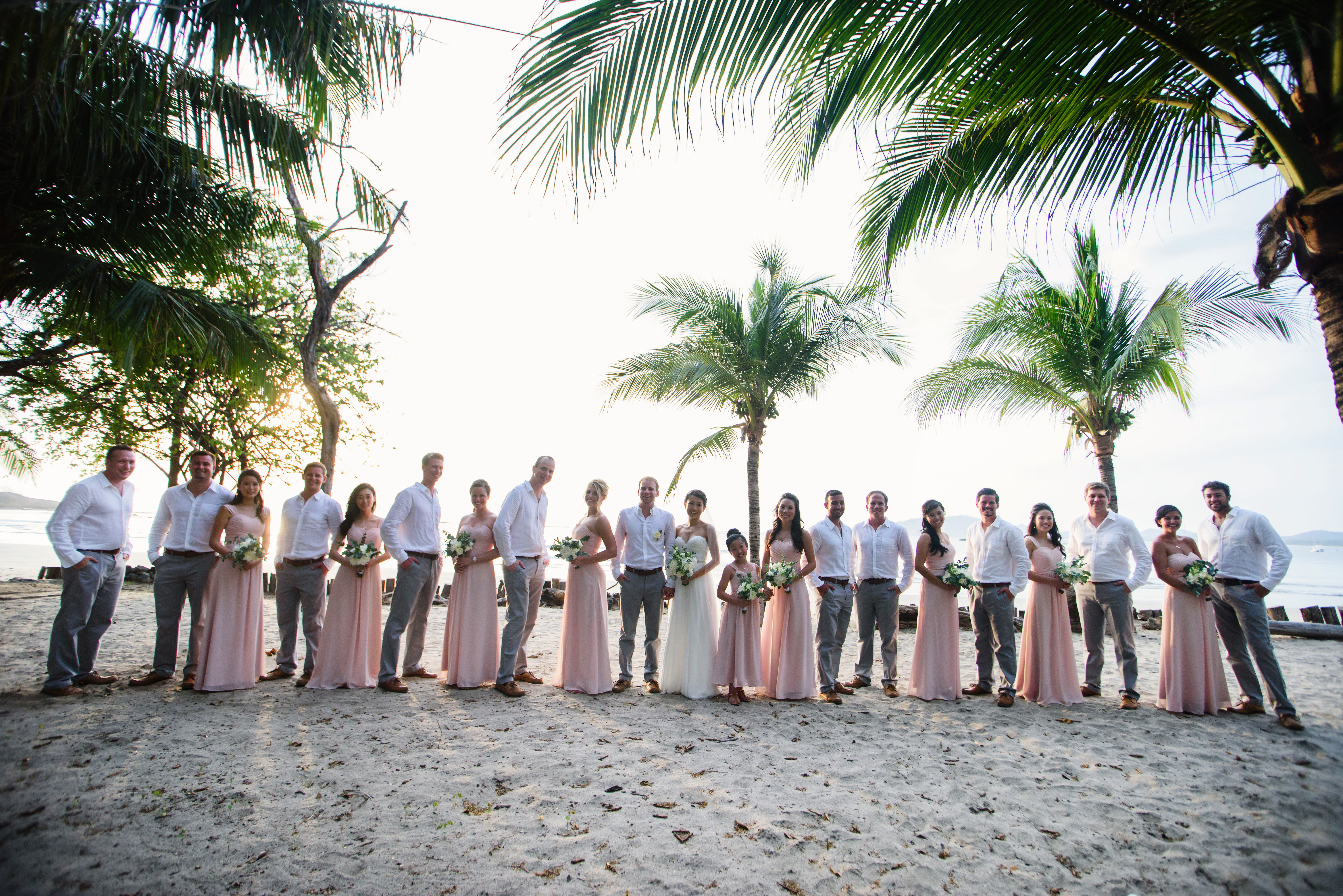 Wedding Party Tamarindo Costa Rica