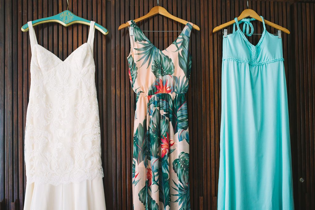 Wedding Dress Costa Rica Wedding