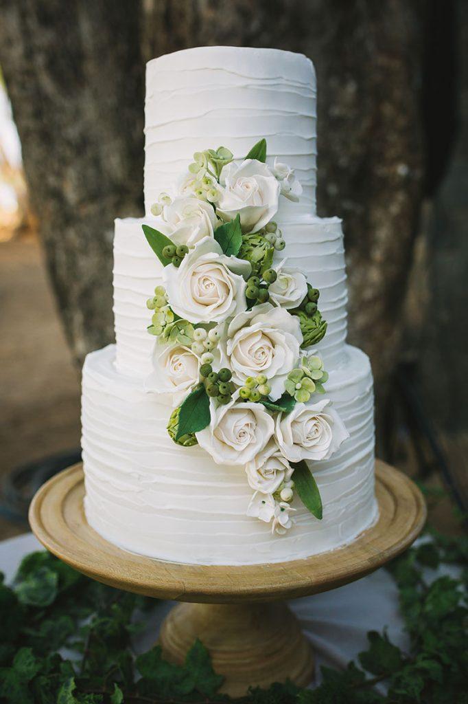 Gorgeous Wedding Cake Costa Rica Wedding