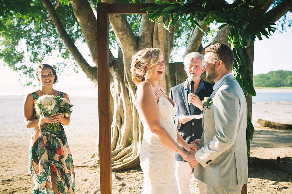 Ceremony Love Costa Rica Beach Wedding