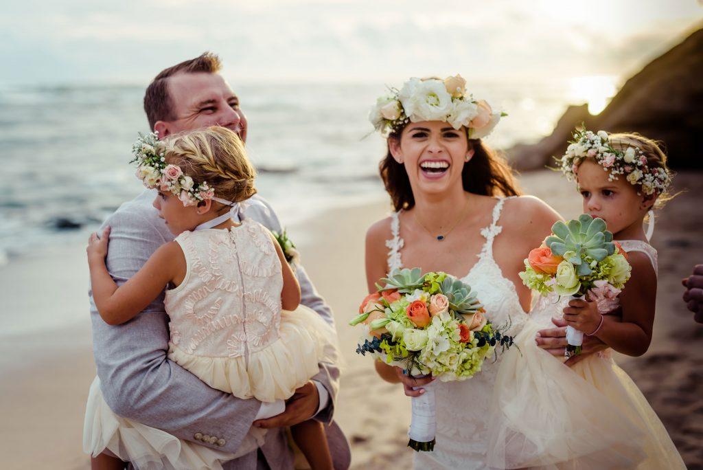 Playa Negra Family Costa Rica Beach Wedding