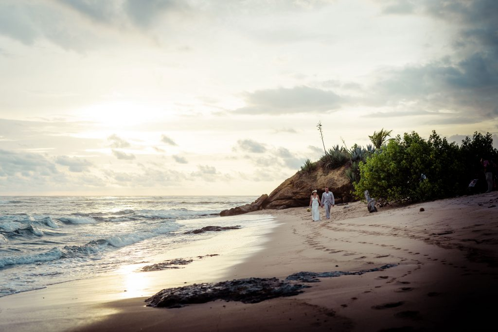Playa Negra Costa Rica Beach Wedding