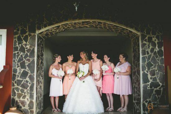 Bridesmaids Costa Rica Wedding