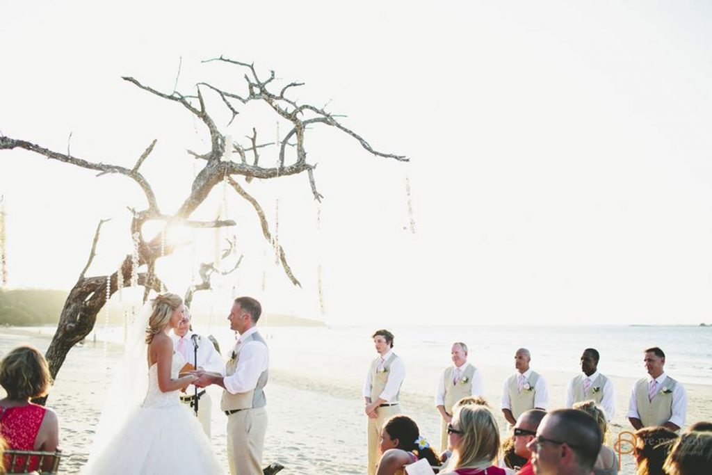 Ceremony Costa Rica Beach Wedding