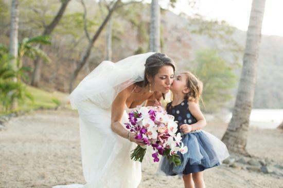 Bride Playa Hermosa Bosque del Mar Costa Rica Wedding