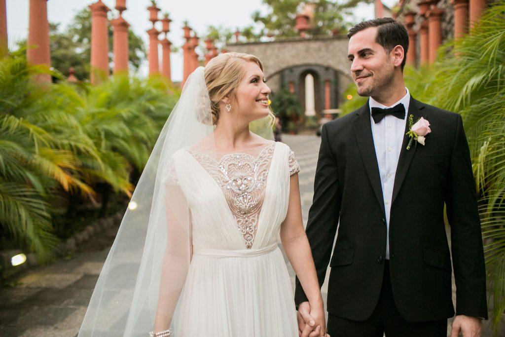 Bride Groom Zephyr Palace Villa Caletas Costa Rica Wedding