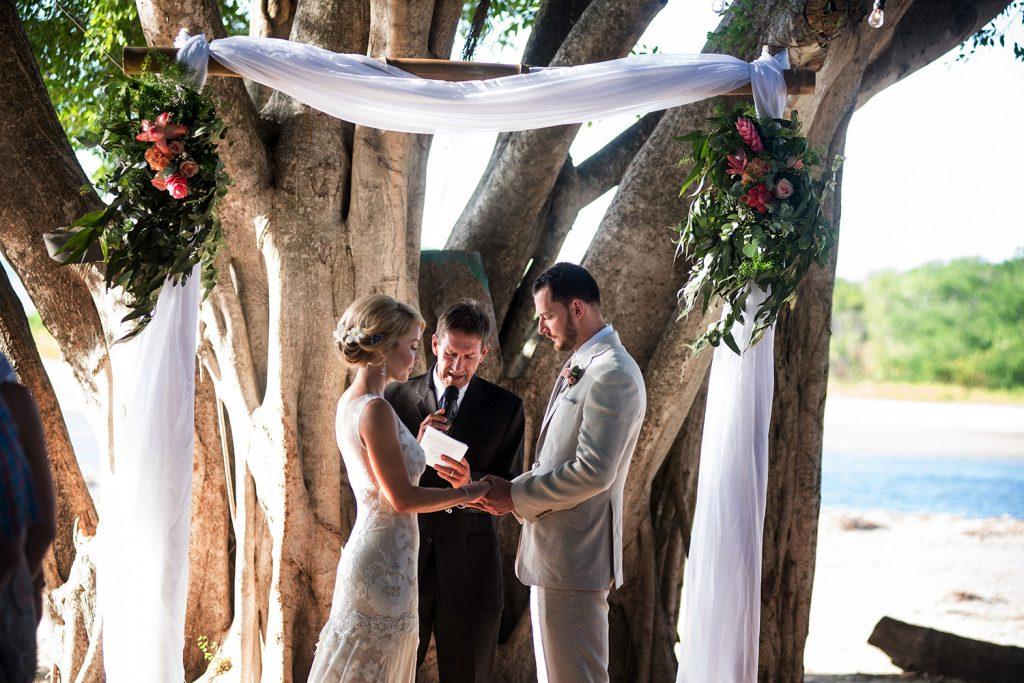 Wedding Ceremony Costa Rica Wedding