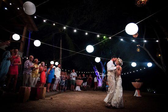 First Dance Tamarindo Costa Rica Wedding