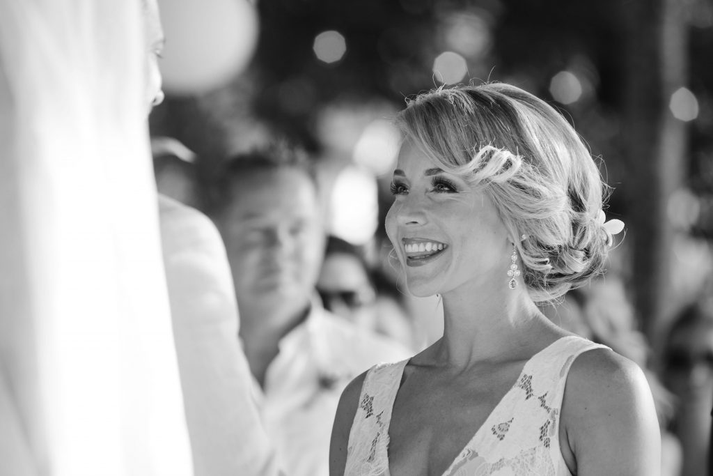 Bride Costa Rica Beach Wedding