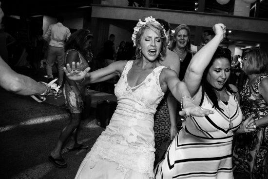 Bride Dancing Costa Rica Wedding