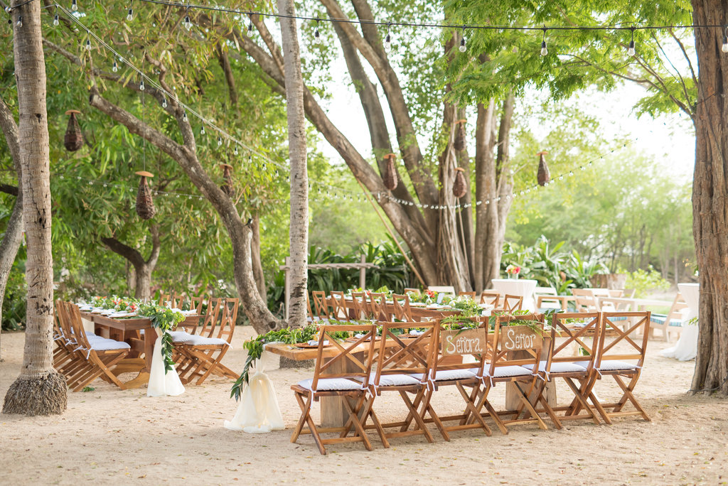 pangas venue decorated in the day