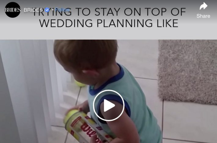 Wedding planning humour