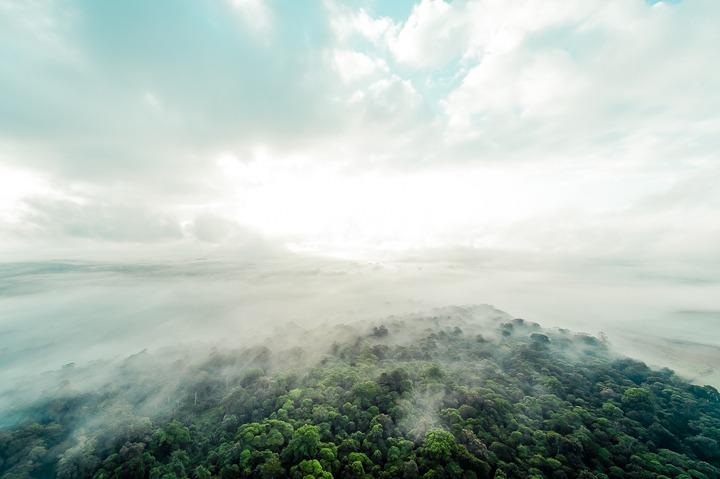 Cloud Forest Hot Air Balloon Costa Rica Wedding Planner Meghan Cox Photographer Toh Gouttenoire