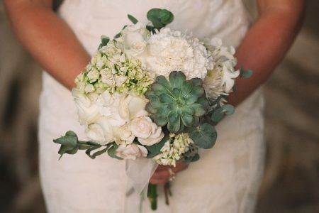 Succulent Bouquet Costa Rica Beach Wedding Planner Meghan Cox Mil Besos, Photo Funkytown Photography