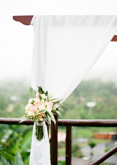 Ceremony Details La Fortuna Wedding Planner Meghan Cox Mil Besos, Photographer Lisa Blume Photography