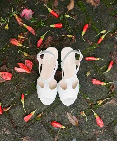 Destination Wedding Shoes La Fortuna Wedding Planner Meghan Cox Mil Besos, Photographer Lisa Blume Photography