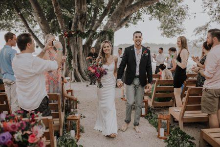 Boho Pangas Beach Club Wedding