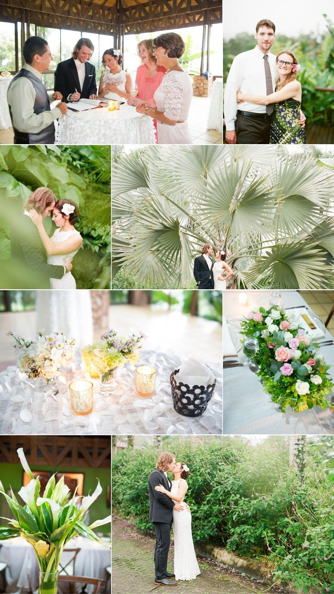 costa rica small wedding