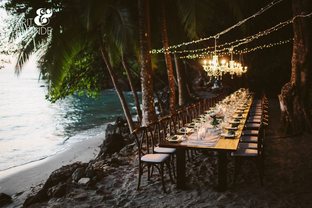 Tulemar Beach Manuel Antonio Wedding Planner Meghan Cox Mil Besos, Photographer A Brit & A Blonde