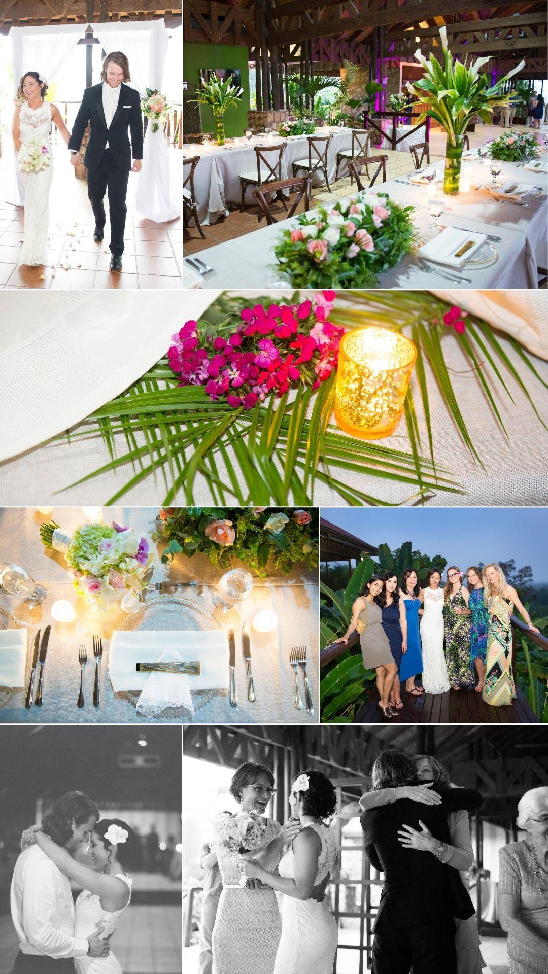 Mountain Paradise Hotel wedding reception