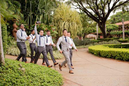 Groomsmen Style Tamarindo Diria Costa Rica Wedding Planner Meghan Cox Mil Besos Photographer Sylvia Guardia