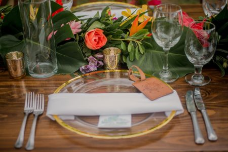 Tropical Table Inspo Costa Rica Wedding Planner Meghan Cox Mil Besos Photographer Sylvia Guardia