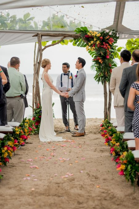 Ceremony Costa Rica Wedding Planner Meghan Cox Mil Besos Photographer Sylvia Guardia