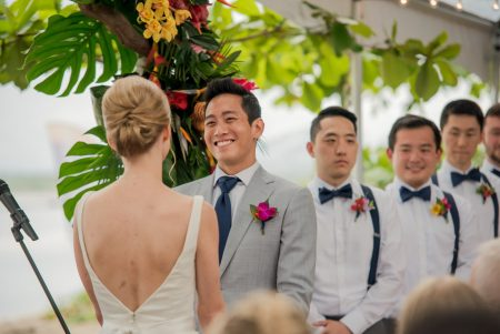 Tropical Ceremony Costa Rica Wedding Planner Meghan Cox Mil Besos Photographer Sylvia Guardia