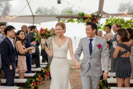 Recessional Costa Rica Wedding Planner Meghan Cox Mil Besos Photographer Sylvia Guardia
