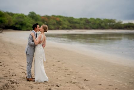 Elopement Playa Langosta Costa Rica Wedding Planner Meghan Cox Mil Besos Photographer Sylvia Guardia