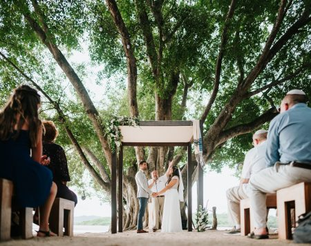 Jewish Wedding Ceremony, Costa Rica, Wedding Planner: Meghan Cox, Mil Besos, Photographer: Costa Vida