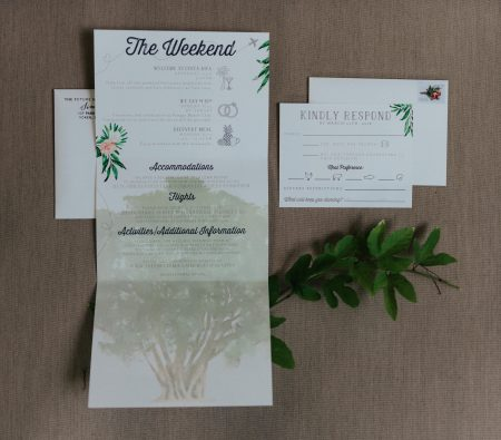Costa Rica Wedding Invitation Ideas, Wedding Planner Meghan Cox Mil Besos, Photographer Costa Vida