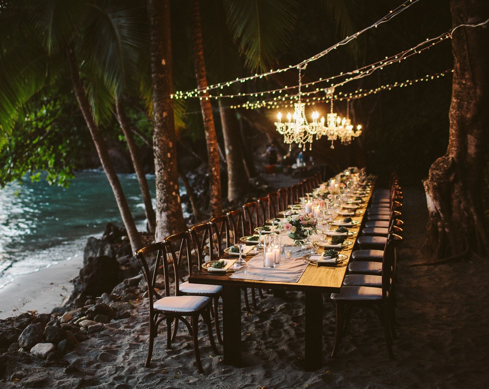 Tulemar Beach Wedding Buena Vista Villas