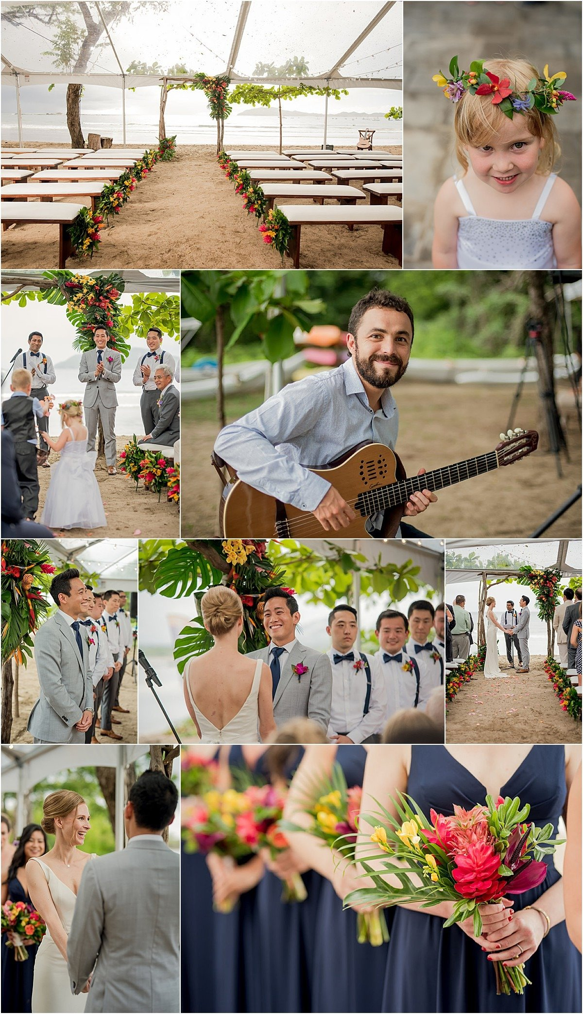music for wedding ceremony in Costa Rica
