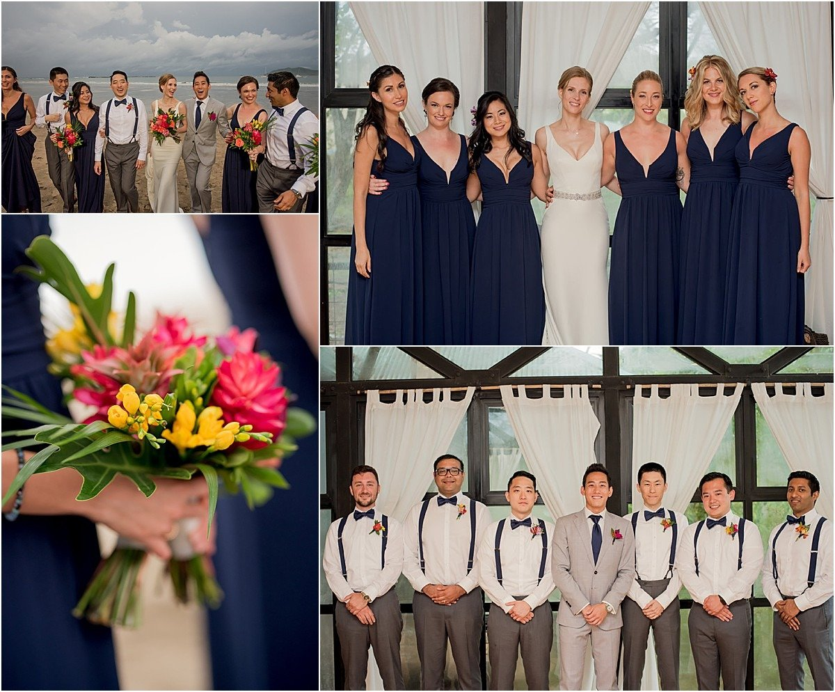navy blue bridesmaids gowns CR