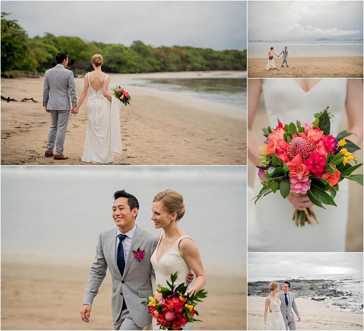 playa sand bouquet