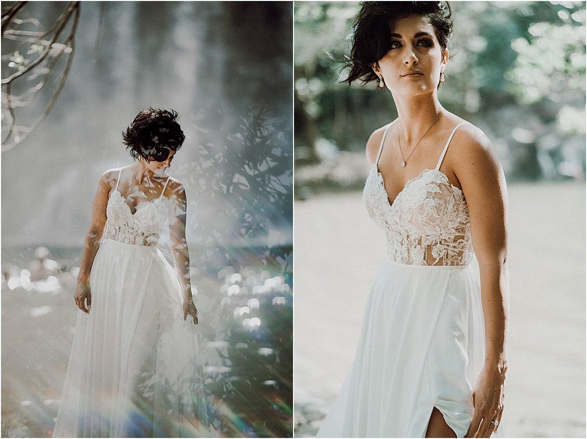 stunning gown wedding corset edgy bride