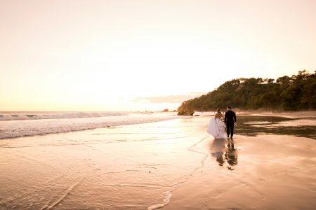Manuel Antonio Beach Wedding Manuel Antonio Wedding Featured in France