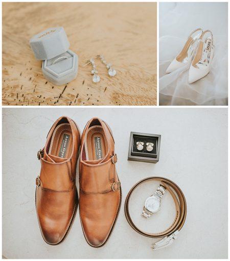 Groom Shoes Earrings Jewelry Bridal Heels Mil Besos Wedding Pangas Tamarindo Costa Rica
