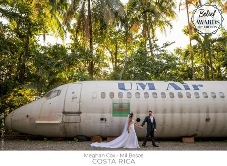 Costa Rica Wedding Award Winning Mil Besos spotted in Portugal