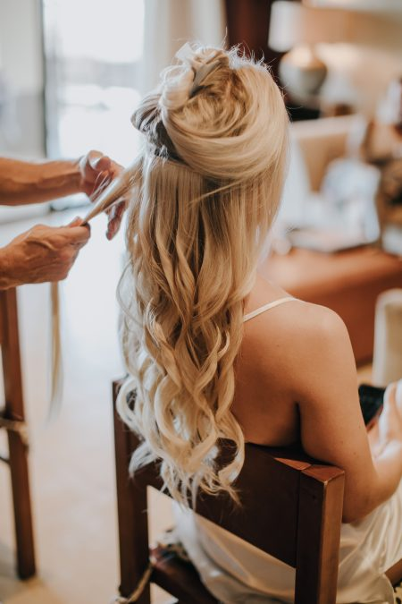 Destination Wedding Hair Stylist