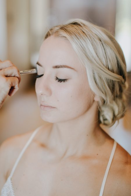 Destination Wedding Bride Makeup