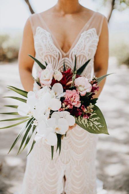 Destination Wedding Bouquet Style