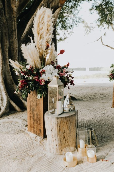 Destination Wedding Ceremony Decor